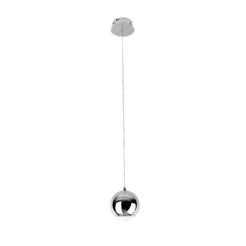 Luminaria colgante glesna cromo 5w ledbox - Luminarias colgantes ...